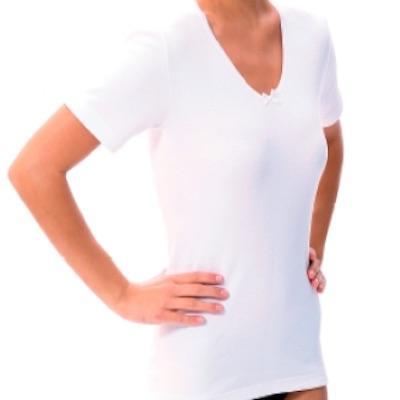 Camiseta Señora Manga Corta Algodón