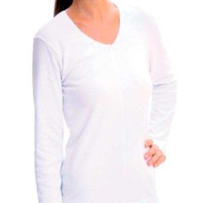 Camiseta Señora Manga Larga Algodón